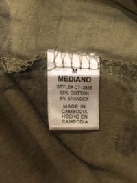 Camouflage tee size female M Mississauga, L4X 2C8
