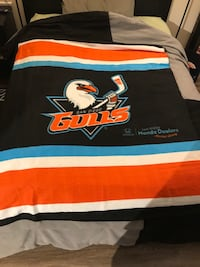 SD Gulls Fleece blanket San Diego, 92108