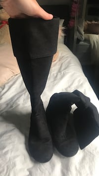 Size 7 Over the knee Suede Boots  Halifax, B4B