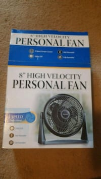 8 inch high velocity 3 speed fan  Frederick, 21704