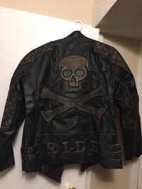 New Leather jacket never worn M/L Edmonton, T5X 3Y8