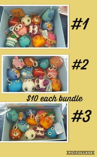 New squishy toys bundles