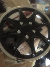 """17"""" hubcaps , set of four"""