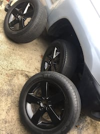 "Full Set of 16"" rims/tires/wheels 205/60/16 great shape! W caps! Palm Coast, 32164"