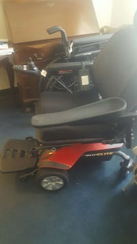 black and red motorized wheel chair Jessup, 20794