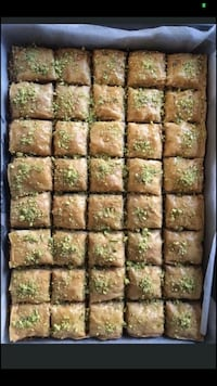 Baklava knafe middle eastern sweets pastries Oakville
