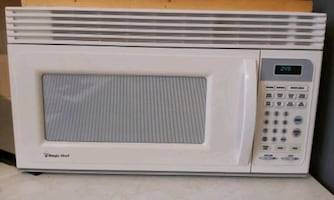 microwave with vent fan
