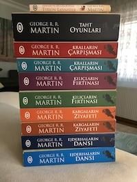 Game of thrones kitap serisi