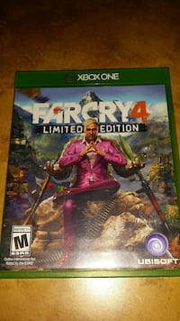 Farcry 4 Limited Edition Xbox One game case
