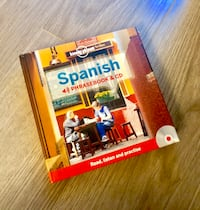 Lonely planet Spanish phrase book plus CD Toronto, M3A 0A4