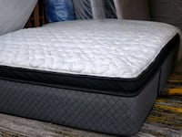 High end king mattress 350$ delivery 50$. Pocket c Edmonton, T5A 4H3