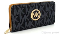 black and gray Michael Kors leather long wallet Inver Grove Heights, 55076