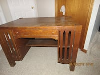 Antique Krug Bro's library table
