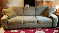 brown fabric 3-seat sofa Rockville, 20850