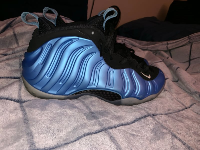 Nike air foamposite one university blue 1