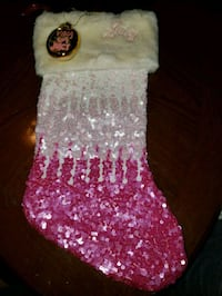 Christmas Stocking,  ornament, Juicy Coture  Las Vegas, 89149
