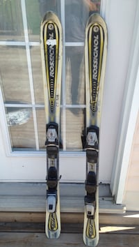 White-black-yellow rossignol snow skis Gatineau, J8V 2T1