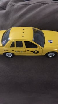 yellow and black coupe die-cast model Perth East, N0K