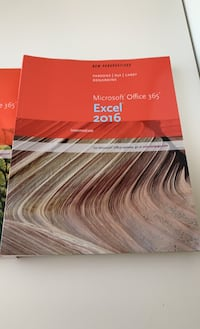 Microsoft Office 365 Word and Excel Intermediate How To books
