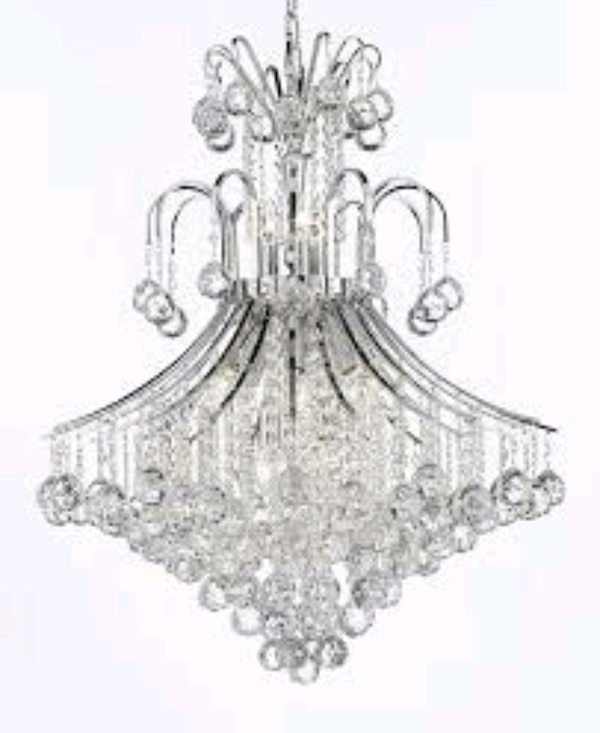 Lighting By Pecaso 3003 Cr Crystal Chandelier