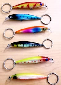 Lure keychains Warr Acres, 73122