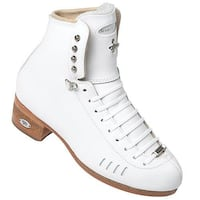 Figure Skates Riedell F1500 7B/A, 7.5C/B white BOOTS ONLY Brand New Hamilton