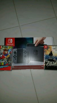 black Nintendo Switch game console box Kissimmee, 34744