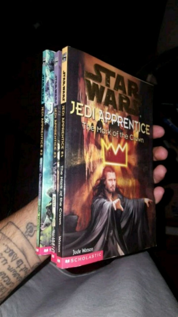 three Star Wars books