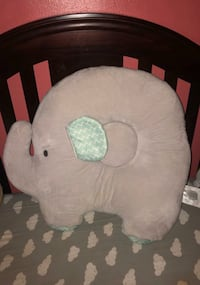 Elephant baby cushion