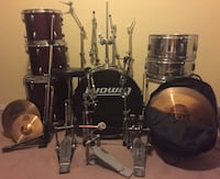 Ludwig Accent Drum Set w/ extras.