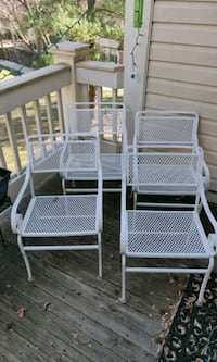 Chairs matching set of four for patio balcony Bethesda, 20814