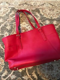 Red Danier genuine leather purse Hamilton, L9K 0J8