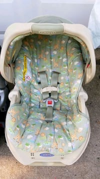 Carseat Graco green jungle print Streamwood, 60107