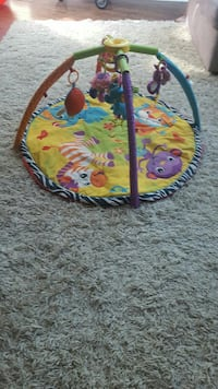 toddler's white, yellow, purple, green and blue activity mat Oakville, L6J