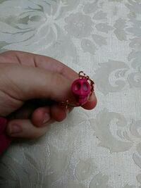 Pink skull ring  Norfolk, 23518