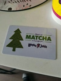 200$ booster juice card Mississauga, L5A 3L3