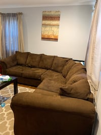 Chocolate Sectional Must Go ASAP! Baltimore, 21214