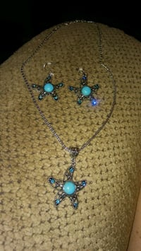 Starfish turquoise jewelry set  Greeneville, 37743
