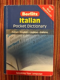 Berlitz italian pocket dictionary book