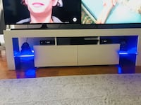TV STAND WITH LED LIGHTS BUILT IN Long Beach