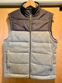Gray and black zip-up vest Long Branch, 07740