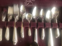Vintage silver plate by Prestige service for 8 in excellent condition  South Bend, 46619