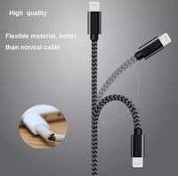black lightning to USB cable Riverdale, 30296