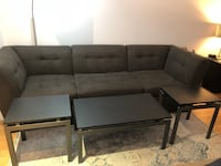 Coffee table and 2 end tables  New York, 10005
