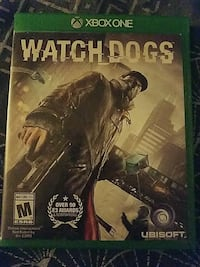 Watch Dogs Xbox One game case Washington, 20017
