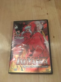Inuyasha fire on the mystic island DVD case St Albert, T8N 2J3