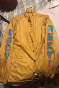 OBEY windbreaker size large barely used Edmonton, T5A 2L4