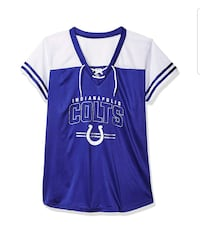 New size 4X womens Colts front lace Jersey Indianapolis, 46218