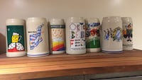 9 Oktoberfest steins.  [NÚMERO DE TELÉFONO OCULTO] . Included year of Berlin Wall felling   Falls Church, 22041