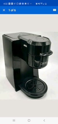 Silver mr coffee kcup brewer Stephens City, 22655